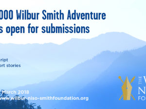 2018 Wilbur Smith Adventure Writing Prize